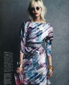 Soo Joo Park #sooJooPark- Vogue Japan April 2014 | by Victor Demarchelier  [Editorial]