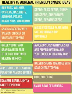 Hypothyroidism Revolution - healthy snack ideas that are also adrenal-friendly Thyrotropin levels and risk of fatal coronary heart disease: the HUNT study.