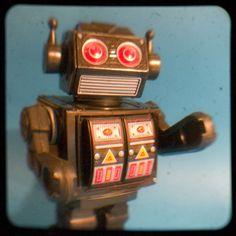 Vintage Japanese robot toy