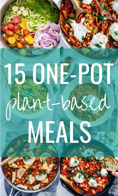15 One-Pot Plant-Based Meals &; Making Thyme for Health 15 One-Pot Plant-Based Meals &; Making Thyme for Health Kim Leicht WhiteWineLady Food ideas I know you guys love one-pot […] meals recipes dinners Plant Based Diet Meals, Plant Based Meal Planning, Plant Based Whole Foods, Plant Based Eating, Plant Based Dinner Recipes, Vegetarian Meal Planning, Plant Based Chili Recipe, Vegetable Base Recipe, Plant Diet