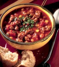 Recipe: Chili Beef Express (20 minute chili using chili beans) - Recipelink.com