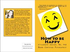 Entire cover of How to be Happy