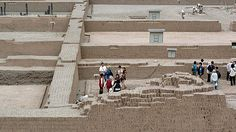 huaca pucllana- miraflores- haute cuisine on site. The ruins are accessible Wednesday to Monday from 9 a.m. to 5 p.m.; the last tour starts 30 minutes before closing. Admission is $2.50 for adults, and half off for children and students.