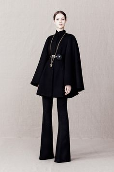 A McQueen Pre-Fall 2013 - the 16th Century Spanish (hope the era is right) influence on this collection is superb.