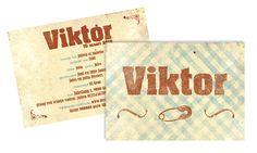 Geboortekaart Viktor