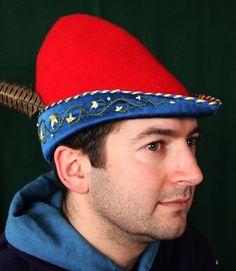Bestickter Hut für einen Adeligen