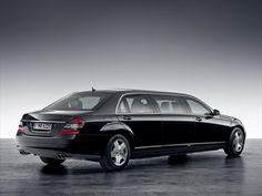 Mercedes Benz Pullman Guard Limousine