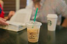Starbucks engagement photos