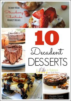 10 Decadent Desserts I Wish I Could Eat Now