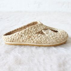 rennes — Pla Illetes Braided Shoe Natural