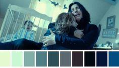 Paleta de cores inspirada no cinema prontinhas! Tem outras possibilidades, é só clicar pra descobrir.