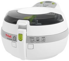 T-fal FZ7002 ActiFry Low-Fat Healthy AirFryer Dishwasher Safe Multi-Cooker with nonstick interior, 2.2-Pound, White