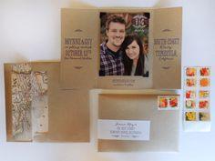 Natural Southern California Vineyard Wedding Invitations by Harken Press via Oh So Beautiful Paper (3)