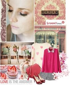 """Sammydress.February.5"" by lagomera ❤ liked on Polyvore"