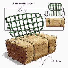 big cushion, plywood back. maybe the plywood could be a serving tray, lots of ideas here . sketched on an iPad Pro with . Wicker Dining Chairs, Metal Chairs, Cool Chairs, Bar Chairs, Dining Room, Cool Furniture, Furniture Design, Inflatable Furniture, Big Cushions