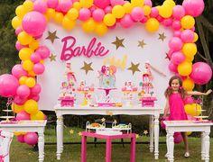 DFiestaKlozet (@dfiestaklozet) • Instagram photos and videos Barbie Party Decorations, Barbie Theme Party, Barbie Birthday Party, Birthday Party Desserts, Spa Birthday Parties, Birthday Party Tables, Princess Birthday, 5th Birthday, Minne