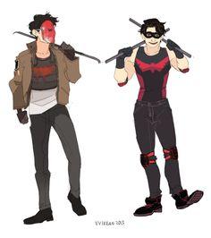 Skint Batman Dick & Jason