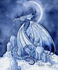 """"""" Crystal Dragon """" by Amy Brown"""