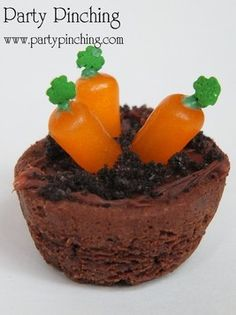 Mini Brownie Garden - Party Planning - Party Ideas - Cute Food - Holiday Ideas -Tablescapes - Special Occasions And Events - Party Pinching