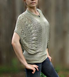Hand Knitted Blouse. $129,00, via Etsy.