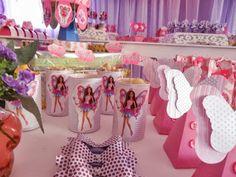 Decoração Barbie Fadas