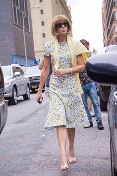 NY model-Anna Wintour