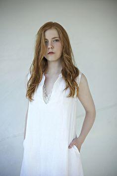 linen dress, minimalistic