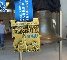 Running Race award medal design Philadelphia bottle opener