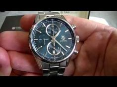 Tag Heuer Carrera Calibre 1887 Full Watch Review - YouTube