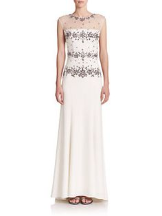 Sue Wong - Embellished Gown