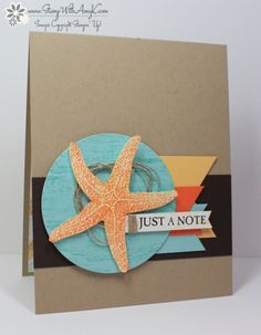 Stampin' Up! Picture Perfect Starfish Card