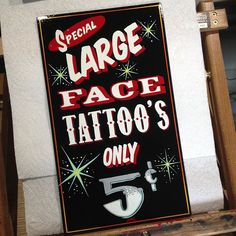 Sale Emails, Tattoo Signs, Face Tattoos, Painting Tattoo, Hand Painted Signs, Art, Color Tattoo, Art Background, Kunst