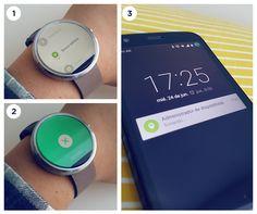 ¡Encontrá tu smartphone de la manera más fácil con el finder del Moto 360 de Motorola. Disponible en Frávega. #VidaTechie #Tecnología #smartwatch