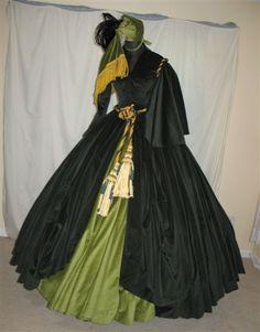 Scarlett O'Hara Drapery / Curtain Dress by scarlett283, via Flickr
