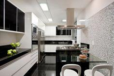 Decor Salteado - Blog de Decoração e Arquitetura : Cozinhas com bancadas de refeições rápidas - veja modelos lindos e dicas!