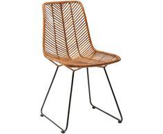 Mit Stuhl Ko Lanta in Schwarz und Rattan steht dem perfekten Dinner nichts mehr im Weg. Shoppen Sie weitere Möbel von KARE auf >> WestwingNow.