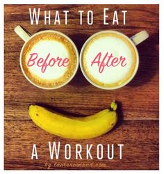 Check out these Fit Tips from Lauren Conrad's Blog on what to eat before and after a workout!