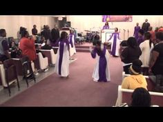 "▶ ""God Blocked It"" - Queen Memorial Church of God in Christ Praise Dancers - YouTube"