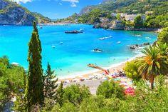 3) Paleokastritsa beach - Corfu island (Kerkyra)