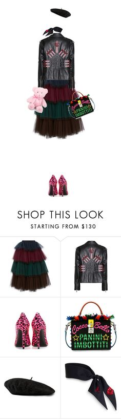 """IT!"" by maria-laura-correa-da-silva ❤ liked on Polyvore featuring Delpozo, Valentino, Yves Saint Laurent, Dolce&Gabbana and Gucci"