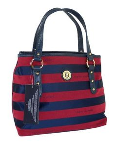 Tommy Hilfiger Brand, Tommy Hilfiger Handbags, Tommy Hilfiger Fashion, Best Handbags, Fashion Handbags, Tote Handbags, Handbag Patterns, Cute Bags, Beautiful Bags