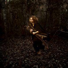 """Robber Girl (""""the wood runner"""" by masha sardari)"""