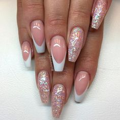 Magnificent Ballerina Nail Shape Designs ★ See more: https://naildesignsjournal.com/ballerina-nail-shape-designs/ #nails