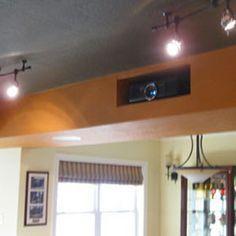 projector hidden shelf - Google Search