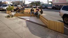 Noriega Street Parklet by Matarozzi Pelsinger Design + Build