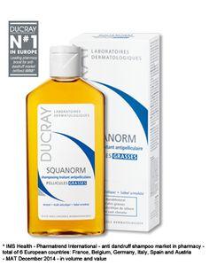 Squanorm Shampoo oily dandruff | Ducray