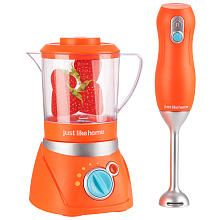 Kids' Cooking Kits - Just Like Home Blender Set Red * Click image for more details. Baby Dolls For Kids, Baby Girl Toys, Toys For Girls, Kids Play Kitchen, Toy Kitchen, Toddler Toys, Kids Toys, Phone Watch For Kids, Play Grocery Store