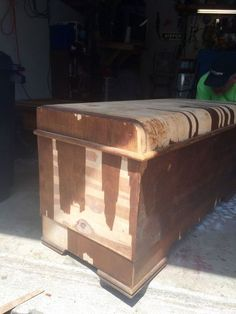 cedar chest upcycle, painted furniture, repurposing upcycling
