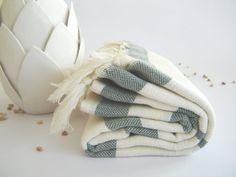 Ecofriendly Bath Towel Handwoven Peshtemal Soultan by TheAnatolian, $28.00