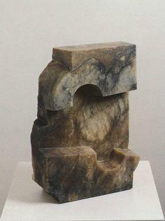 Eduardo Chillida, Untitled (alabaster) on ArtStack #eduardo-chillida #art